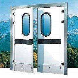 Маятниковая дверь производства МТН