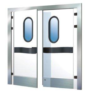 маятниковая дверь МТН