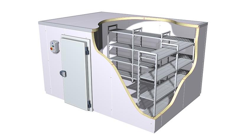 Сборно-разборная холодильная камера