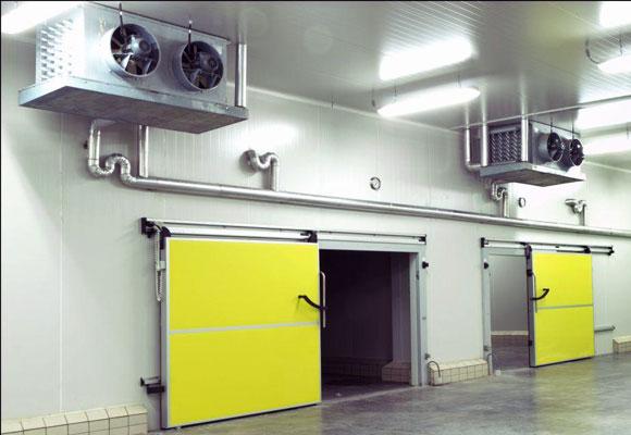 Откатная дверь для холодильных камер